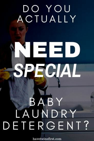 Do you actually need special baby laundry detergent?
