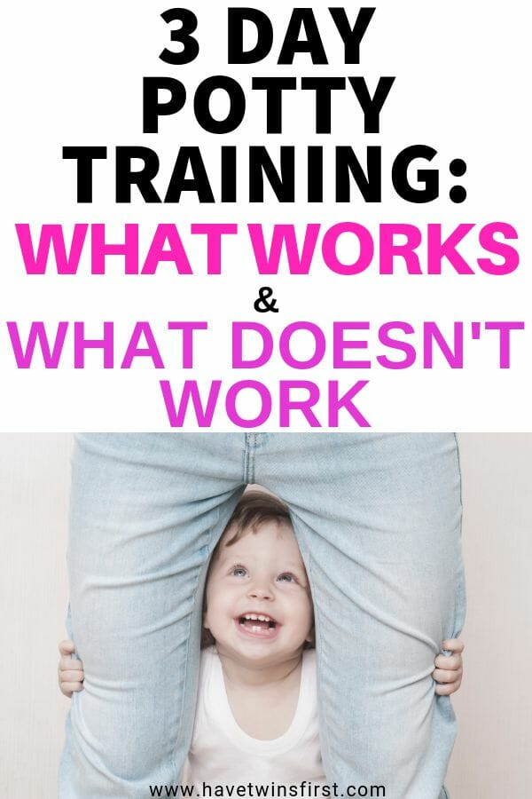 does 3 day potty training work