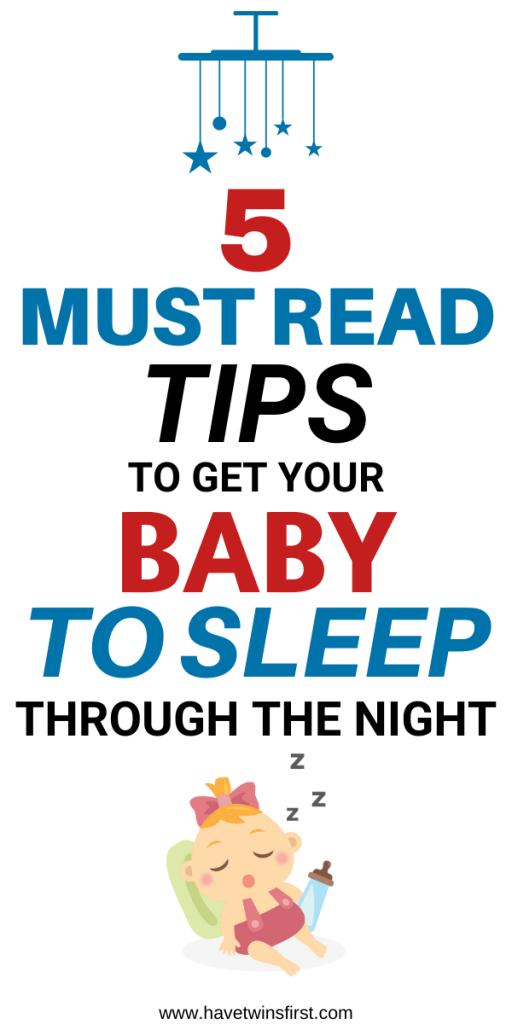 baby sleep through the night tips