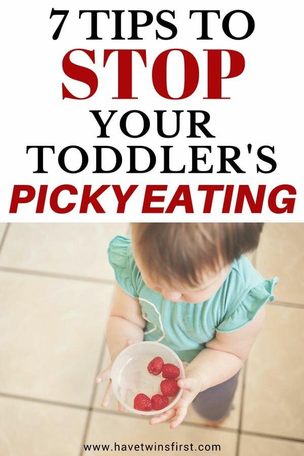 7 picky toddler eating tips