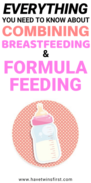Everything you need to know about combining breastfeeding and formula feeding.