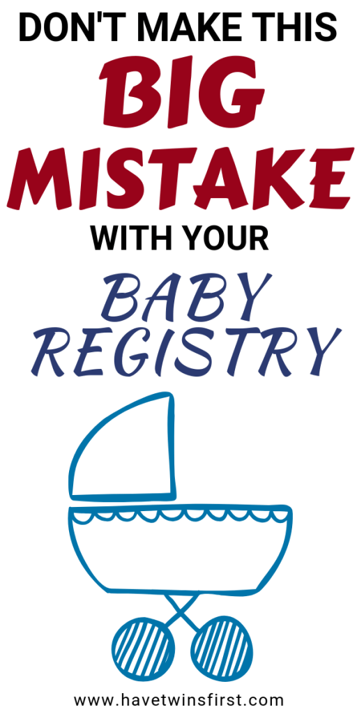 the biggest baby registry mistake new parents make