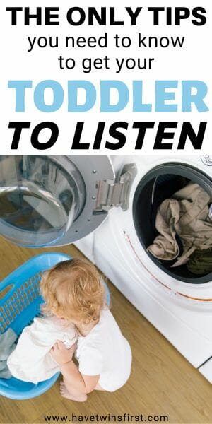 Then only tips you need to know to get your toddler to listen.