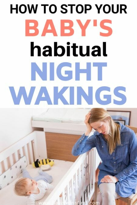 How to stop your baby's habitual night wakings.
