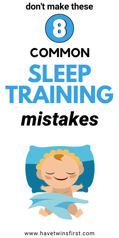 Don't make these 8 common sleep training mistakes.