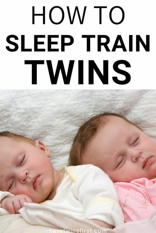 How to sleep train twins.