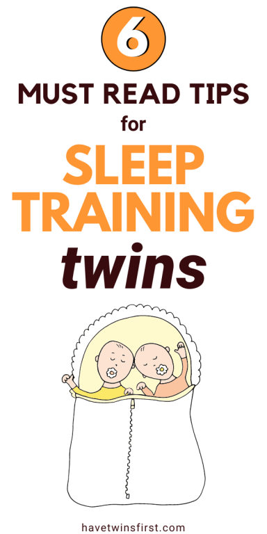6 must read tips for sleep training twins.