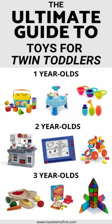 The ultimate guide to toys for twin toddlers.