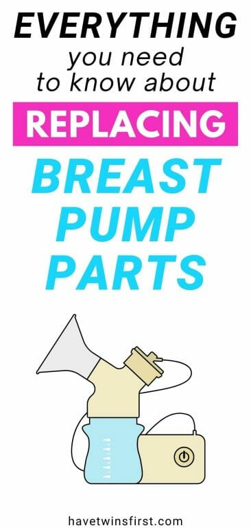 Everything you need to know about replacing breast pump parts.