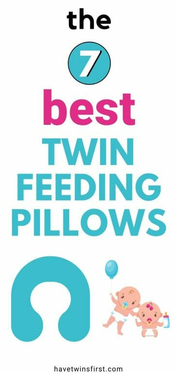 The 7 best twin feeding pillows.