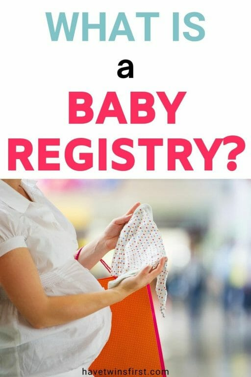 What is a baby registry?