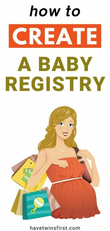 How to create a baby registry.