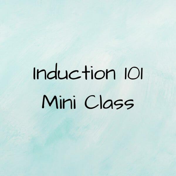 Induction 101 mini class.